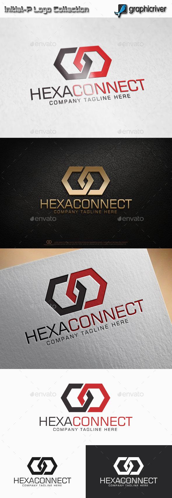 Hexa Connect - Hexagon Logo - Abstract Logo Templates
