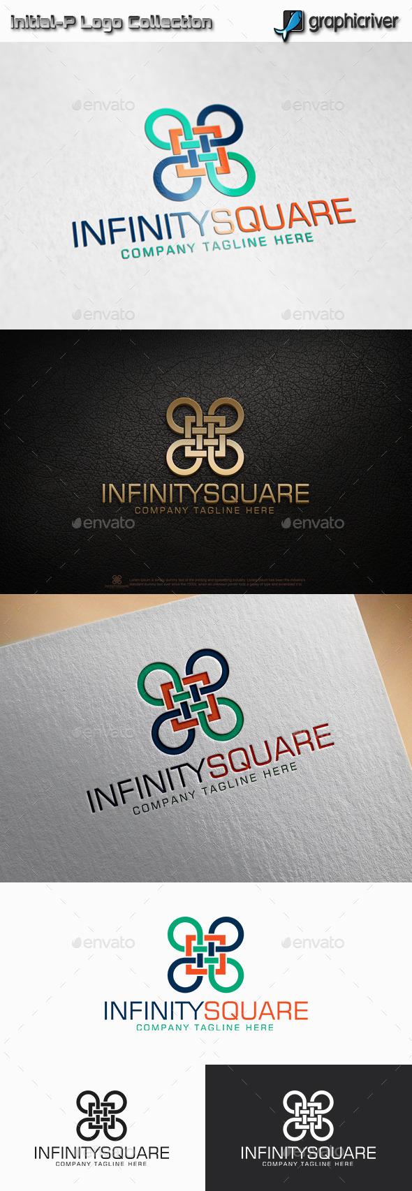 Infinity square  logo - Abstract Logo Templates