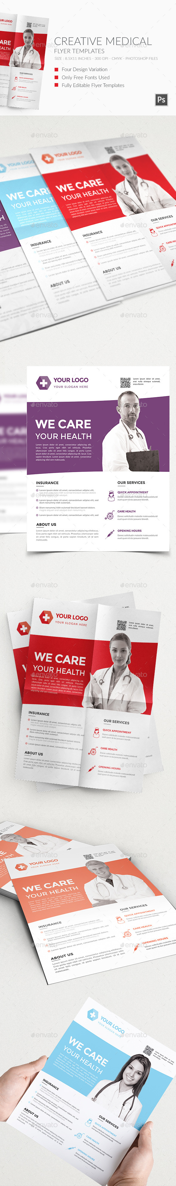 Medical Flyers Templates 3 - Corporate Flyers