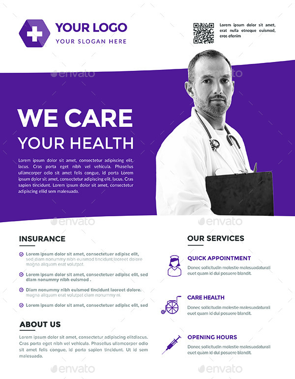 Medical Flyers Templates Boatremyeaton