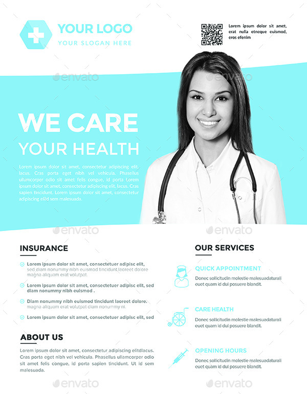 Medical Flyers Templates 3 By Hazemtawfik Graphicriver