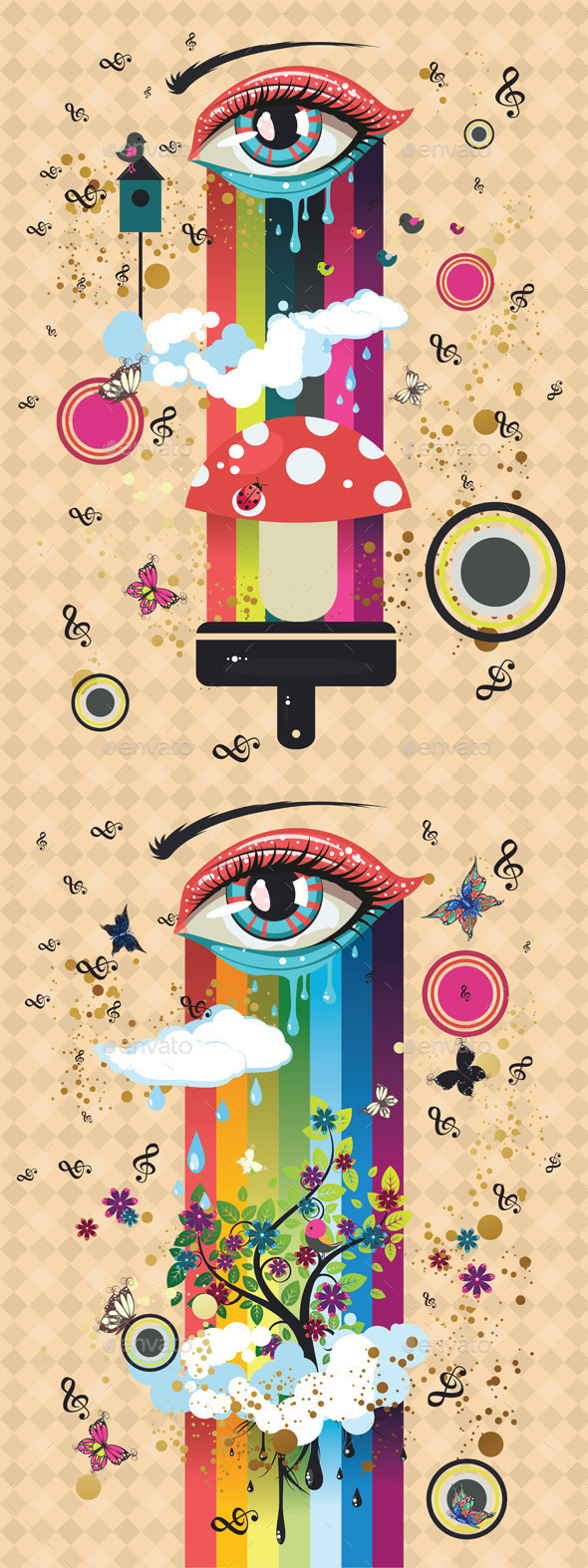 Surreal Eye - Miscellaneous Vectors