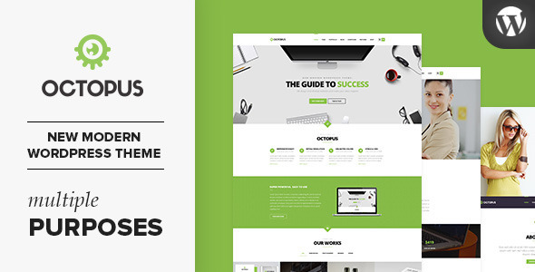 Octopus – Multipurpose Business WordPress Theme