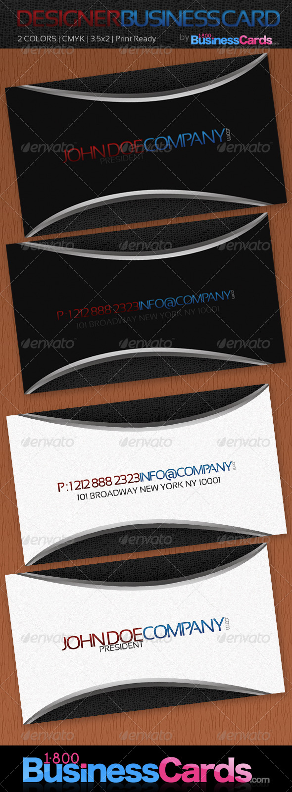 DESIGNER BUSINESS CARDS - Business Cards Print Templates