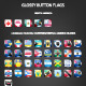 Set Of Glossy Button Flags - GraphicRiver Item for Sale
