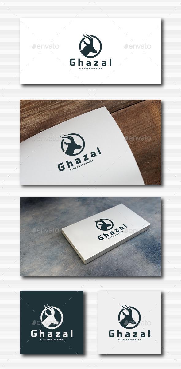 Ghazal Logo - Animals Logo Templates