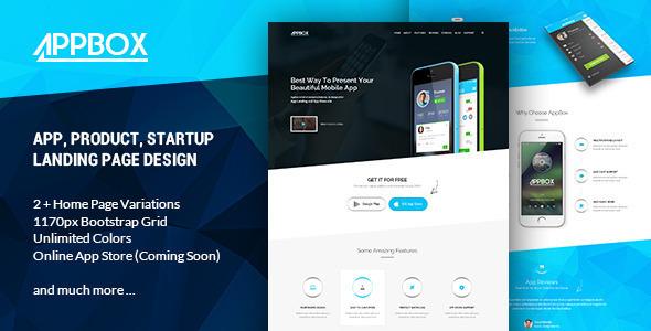 AppBox – App Landing & Shop HTML