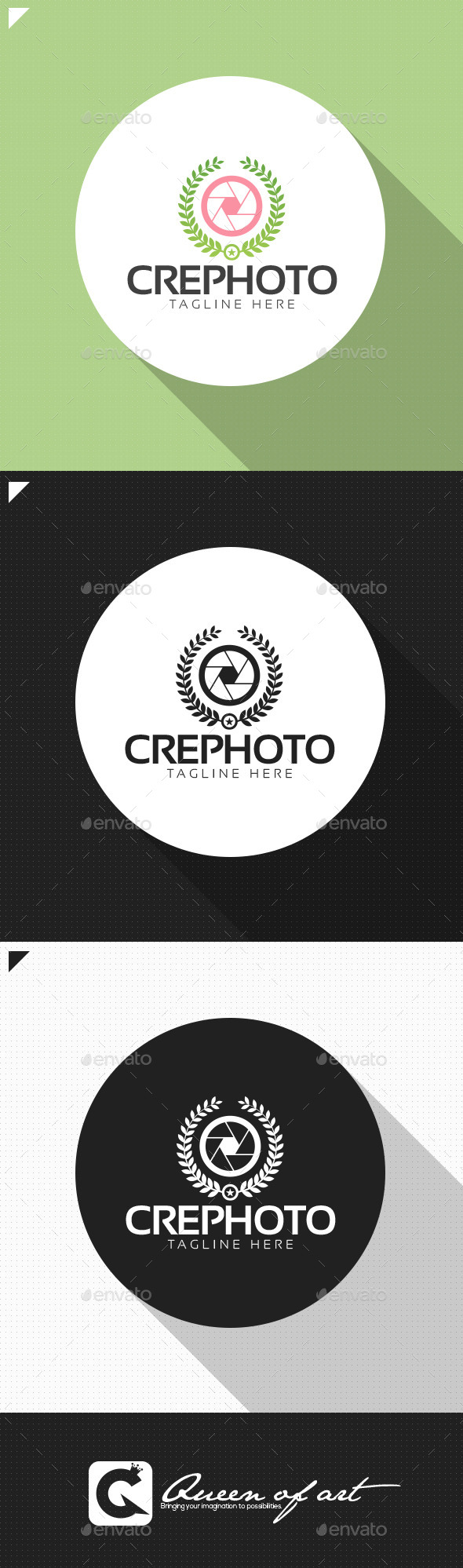 Crephoto Logo - Objects Logo Templates