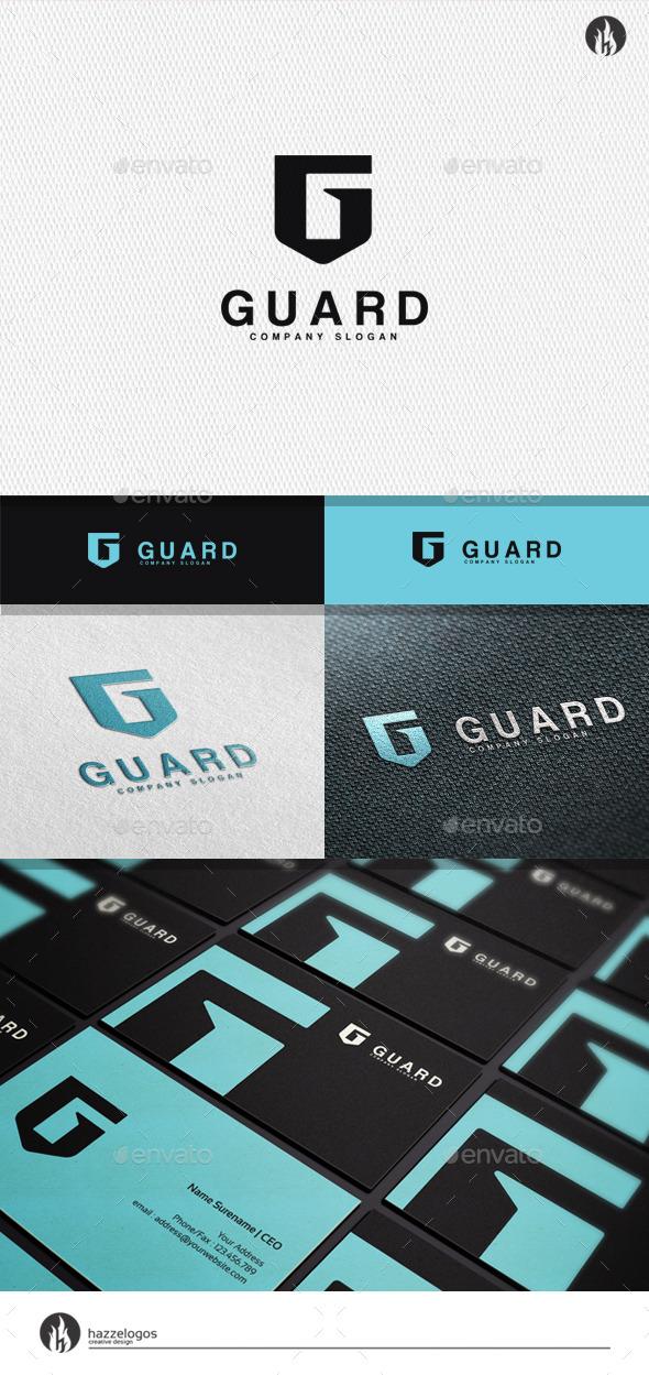 Guard - Letter G Logo - Letters Logo Templates