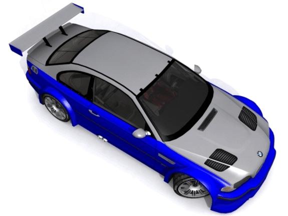 BMW M3 GT-R E46  - 3DOcean Item for Sale