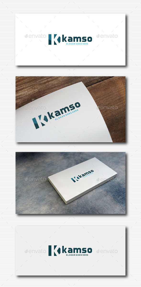Kamso Logo - Letters Logo Templates