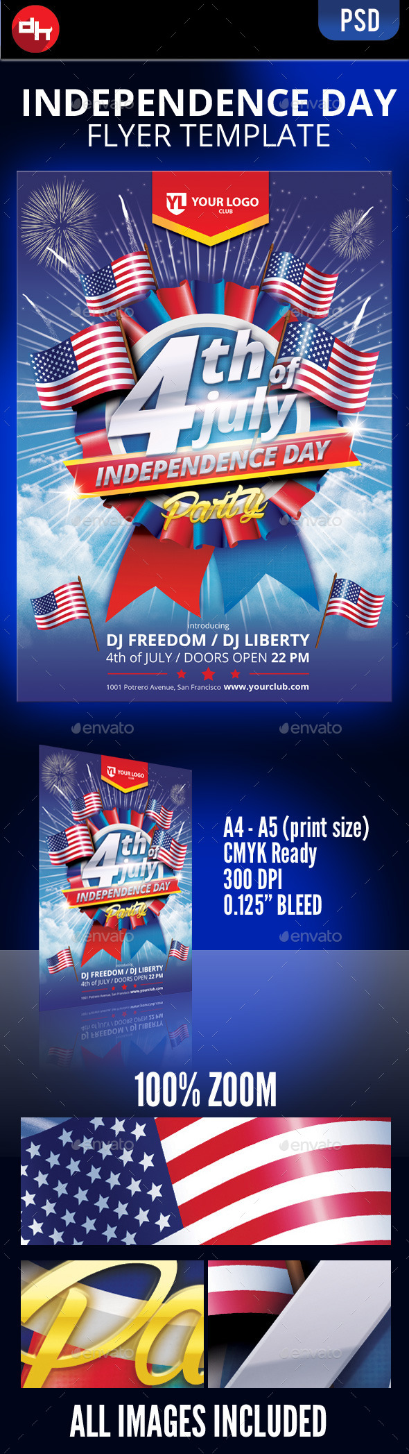 4th of July  - Holidays Events