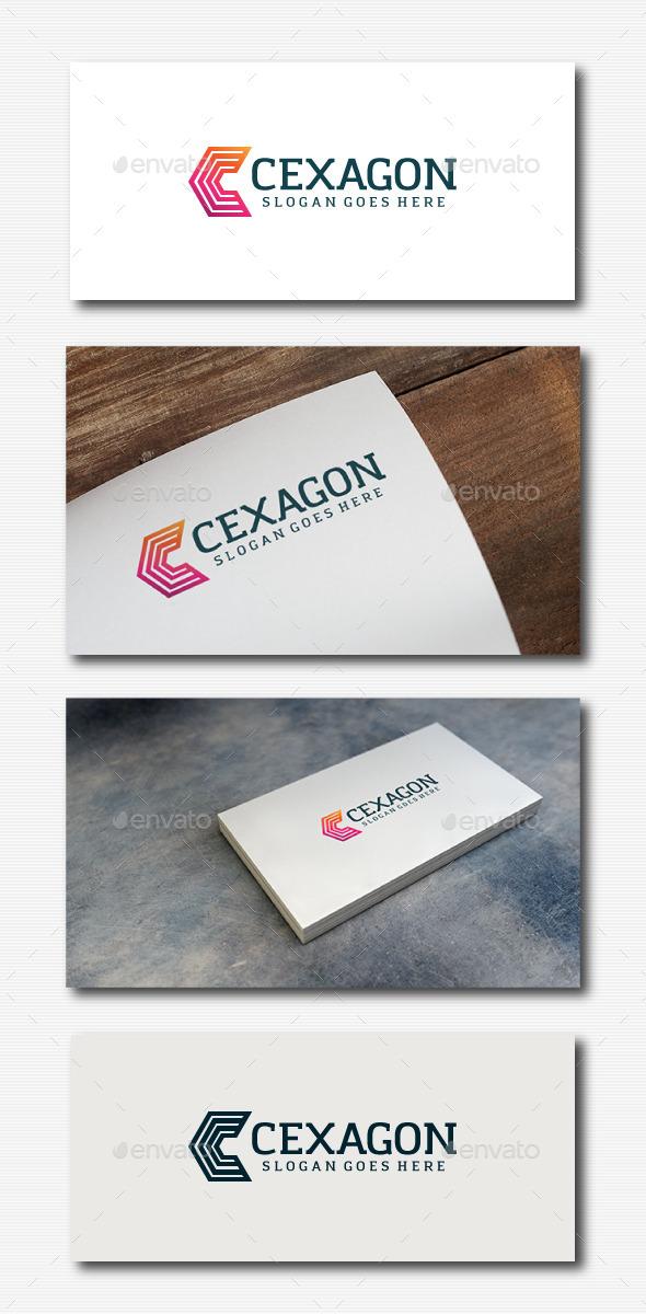 Cexagon Logo - Letter C - Letters Logo Templates