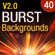 40 Burst & Sparkles Backgrounds - GraphicRiver Item for Sale