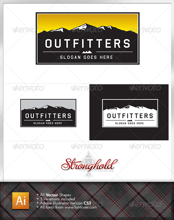 Outdoor Outfitters Logo - Nature Logo Templates