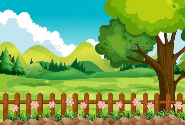 Garden - Landscapes Nature