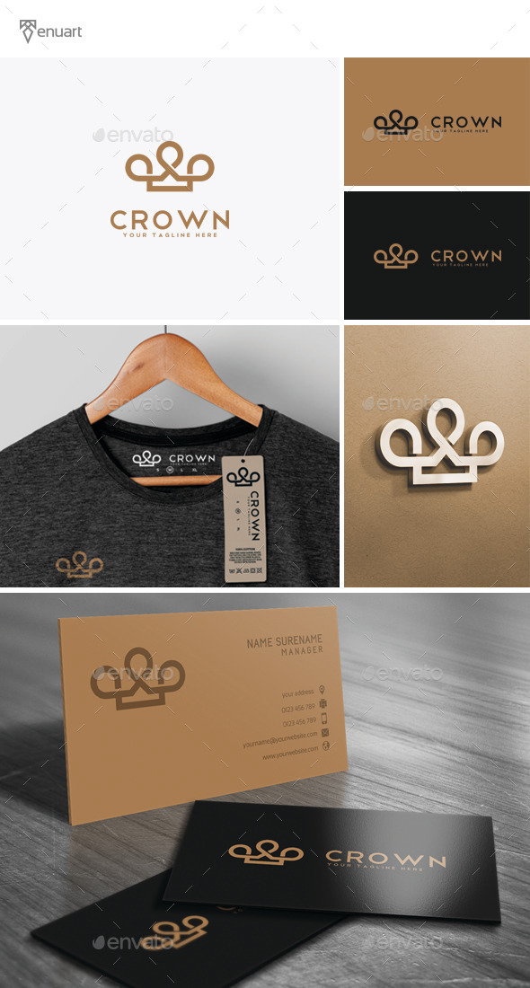 Crown Logo - Symbols Logo Templates