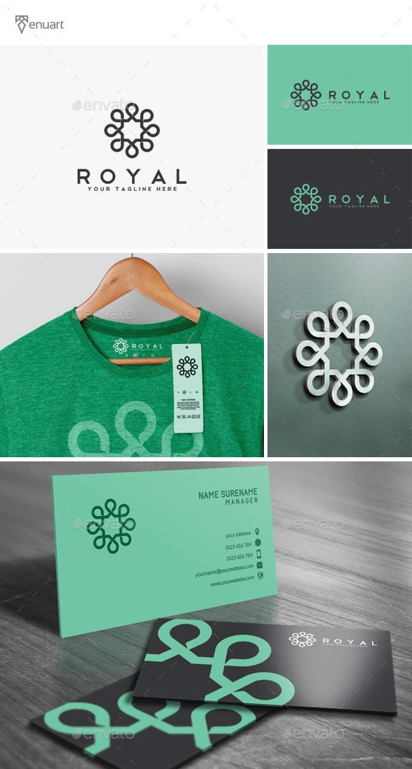 Royal Logo - Crests Logo Templates