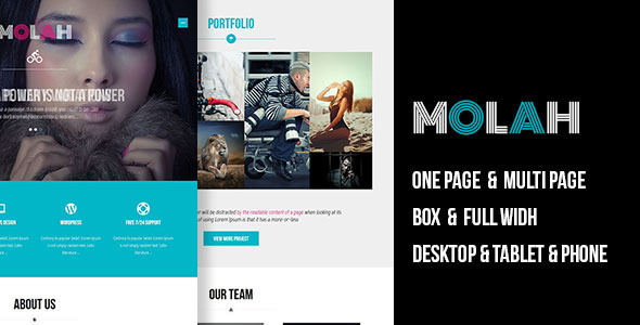 MOLAH – Muse Template