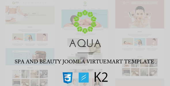 Spa and Beauty Joomla VirtueMart Template