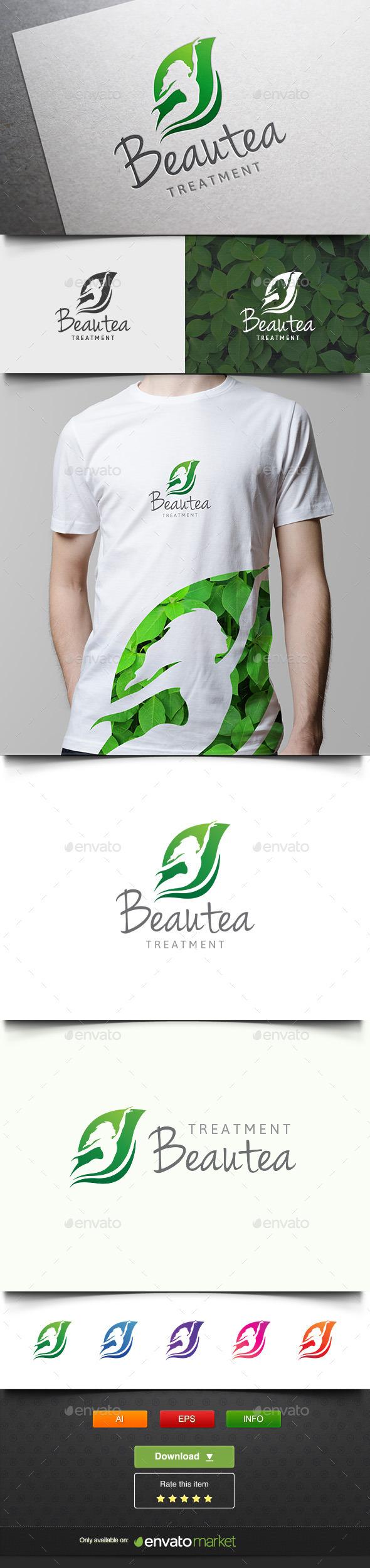 Beauty Treatment - Nature Logo Templates