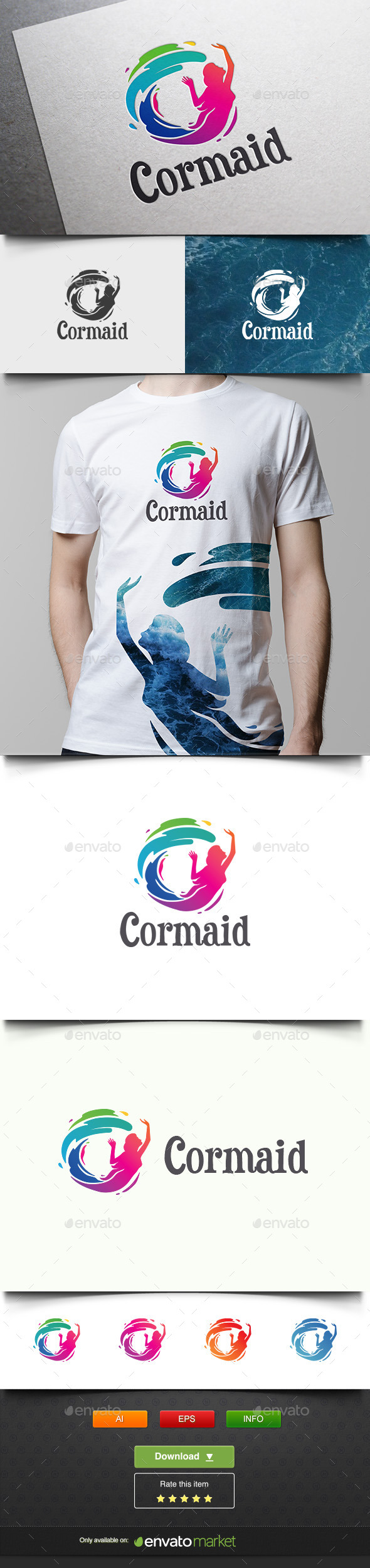 Cormaid - Humans Logo Templates