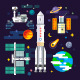 Space Industry Elements - GraphicRiver Item for Sale