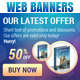 Online Marketing - Web Banner Pack - GraphicRiver Item for Sale