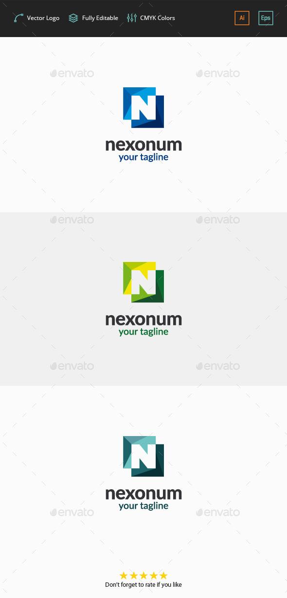 Nexonum Logo - Letter N - Letters Logo Templates