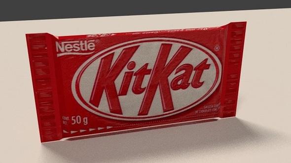 Kitkat chocolate bar - 3DOcean Item for Sale