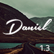 Daniel - Responsive Under Construction Landing Page Nulled