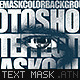 Text Mask Photo Effect - GraphicRiver Item for Sale