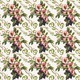 Wild Roses Floral Bouquet Pattern - GraphicRiver Item for Sale