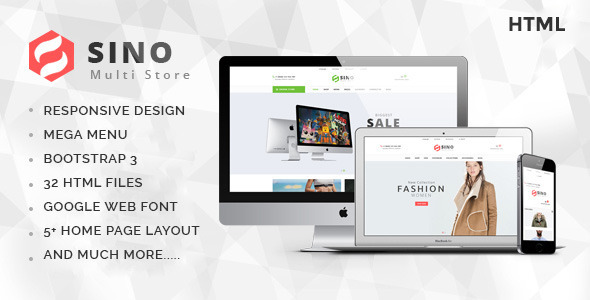 Sino – Multi Store eCommerce Template