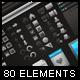 80 Developers Elements - GraphicRiver Item for Sale