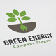 Green Energy Logo - GraphicRiver Item for Sale