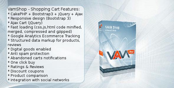 VamShop - CodeCanyon Item for Sale