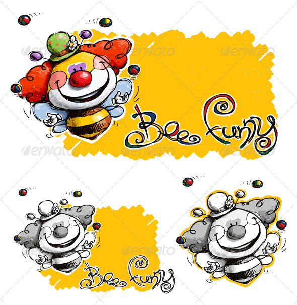 Bee Funny - Animals Characters