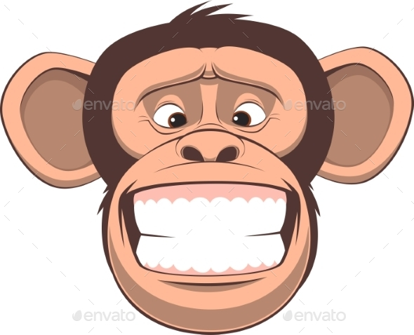 Happy Monkey - Tattoos Vectors