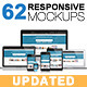 62 Responsive Mockups - GraphicRiver Item for Sale