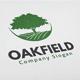 Oak Field Logo - GraphicRiver Item for Sale