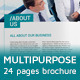 Clean A4 multipurpose brochure - GraphicRiver Item for Sale