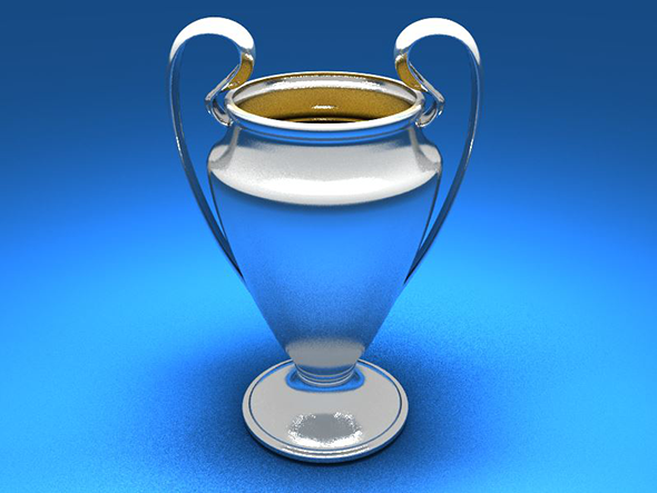 European Champions Cup Trophy - 3DOcean Item for Sale