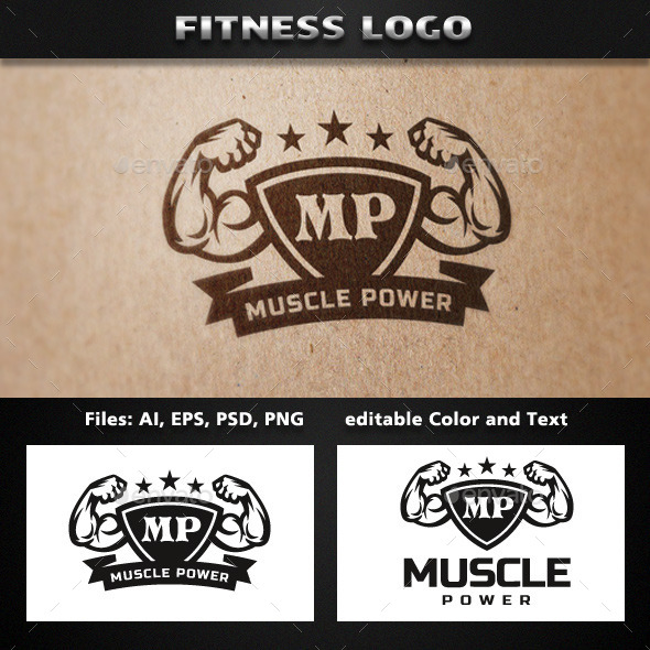 Fitness Logo Template - Objects Logo Templates
