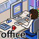 Pixel Art Office Set - GraphicRiver Item for Sale