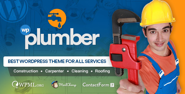 Plumber | Building & Construction Business Theme - Business Corporate