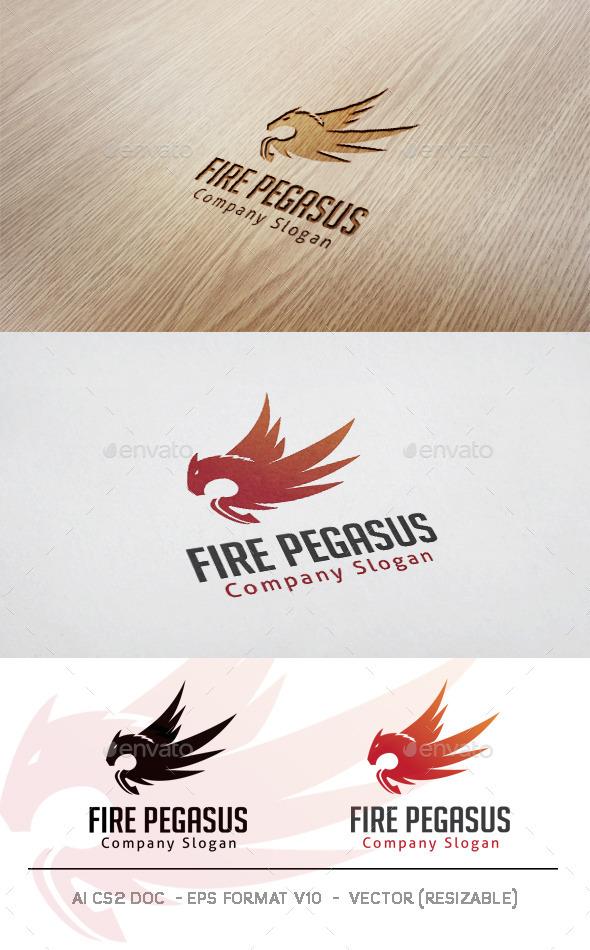 Fire Pegasus Logo
