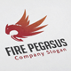 Fire Pegasus Logo - GraphicRiver Item for Sale