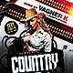 Country Night Show | Flyer Template PSD - GraphicRiver Item for Sale