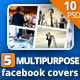 Multipurpose Facebook Cover - GraphicRiver Item for Sale